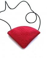 quarter bag, rood