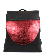 rugzak-met-zwart-rood-metallic-front-design-Jill-en-Rose