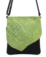 JillenRose-messengerbag-lichtgroen-croco