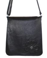 JillenRose-messengerbag-zwart-bloem