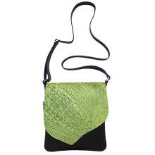 jill-en-rose-messengerbag-front-groen-croco