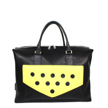 2020-jillenrose-business-bag-front-yellow-dots-