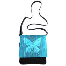 JillenRose-Messengerbag-front-turquois-butterfly