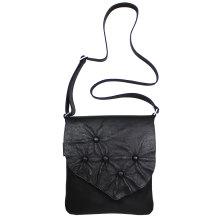 JillenRose-Messengerbag-front-zwart-bolletjes